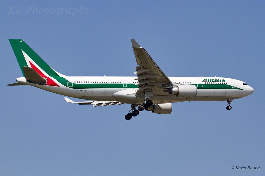 EI-EJK - A332 - Alitalia
