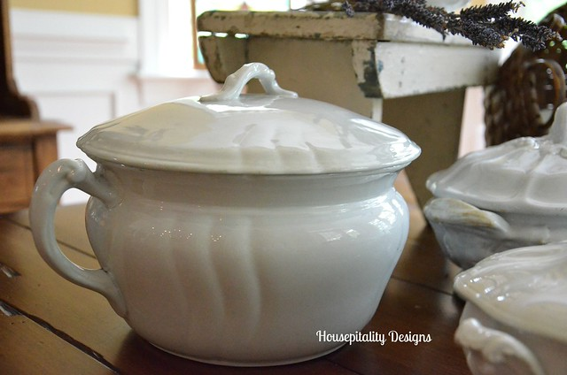 Ironstone Chamber Pot