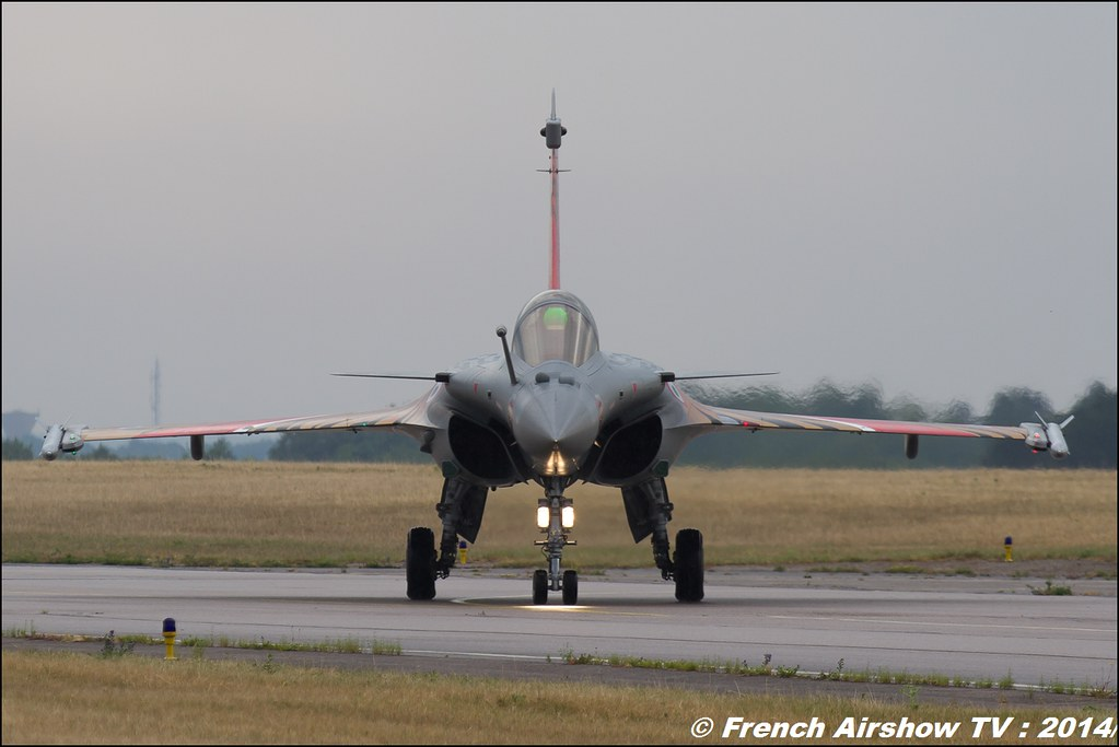 Rafale Solo Display 2014 - Armée de l'Air Meeting Aerien BA-133 Nancy Ochey 2014