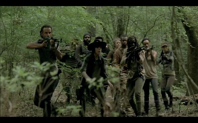 The Walking Dead Season 5 trailer screenshots