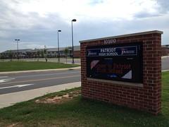 Patriot High School in Nokesville, Virginia