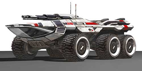Mako vehicle to return in the next Mass Effect