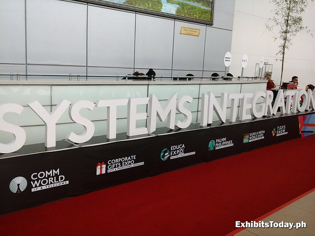 2014 Systems Integration Philippines Welcome Signage