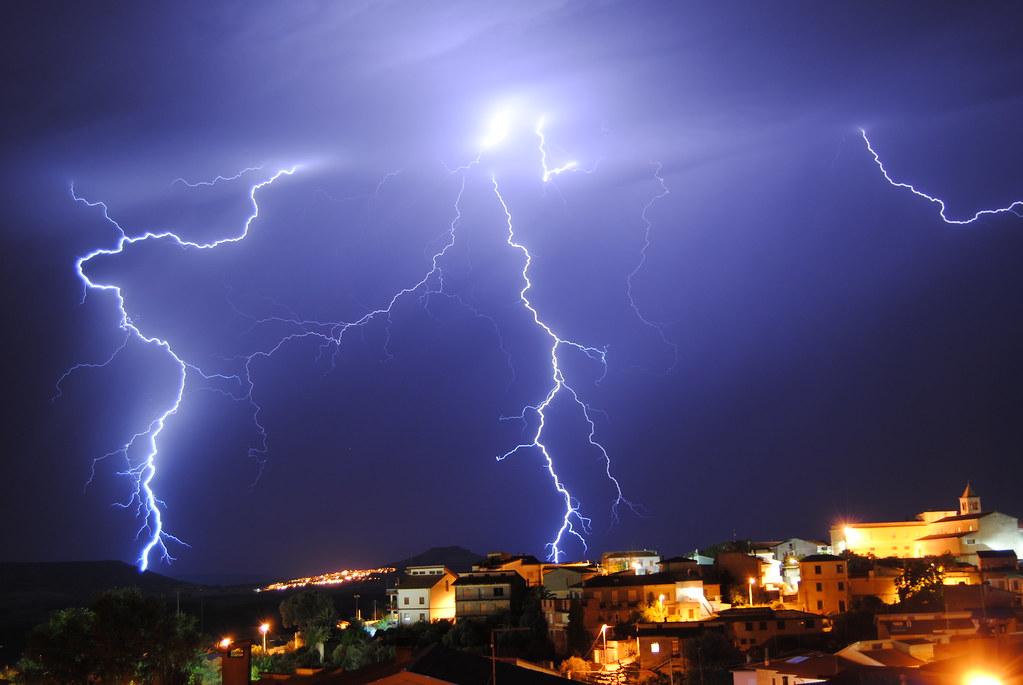 Lightning in Sardinia 22