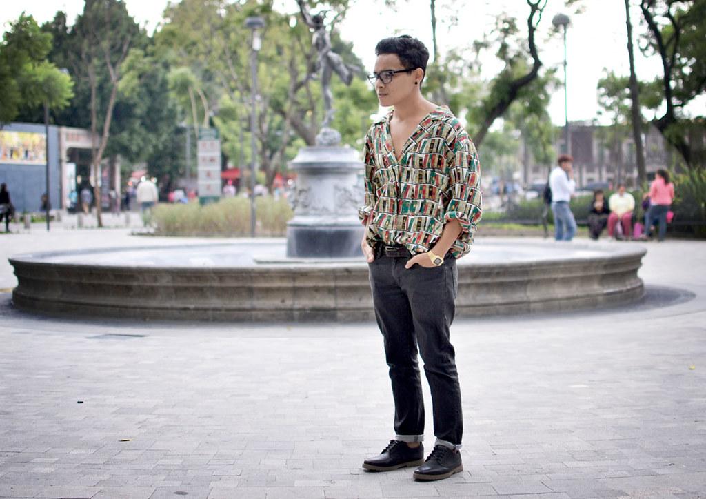 El viento me despeina camisa por Izael Garrido