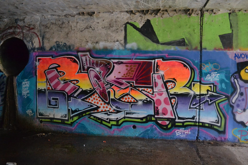 BAER, BTR, Graffiti, The Yard, East Bay, The Chill Spot