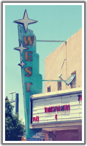 West Theatre - Route 66, Grants, New Mexico