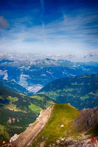 blue sky cloud mountain berg clouds switzerland himmel wolke wolken berge chur moutains hdr arosa blauer graubünden coire graubuenden grison grischun d700 grishun