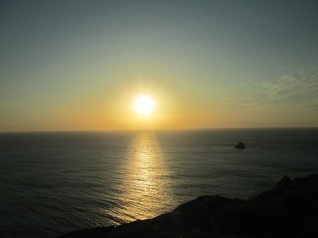 Solpor. Cabo Fisterra (Galicia) 2
