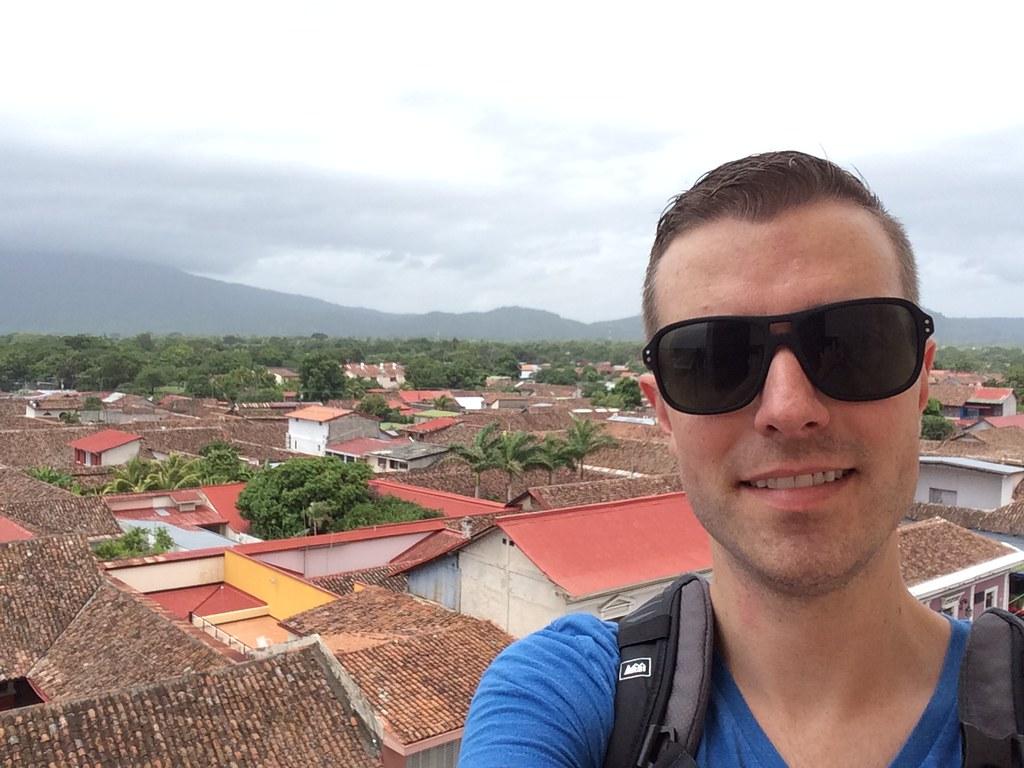 Tower-top view of Granada, Nicaragua