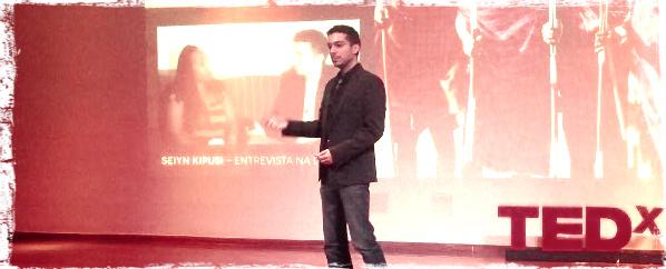 Apresentação no TEDxUFABC em São Bernardo do Campo