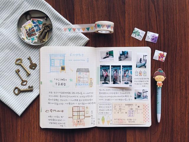 201405-台南之旅手帳004