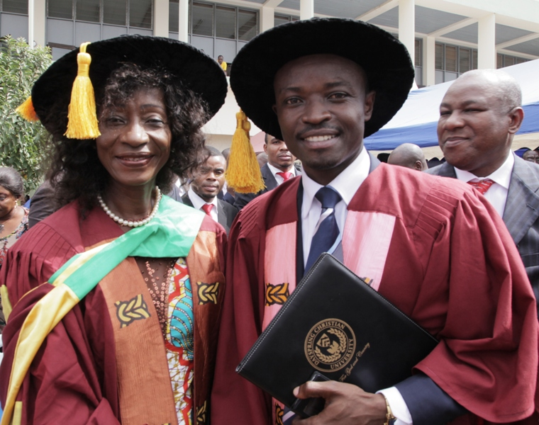 Dr. Sherry Ayittey and Dr. Jefferson Sackey