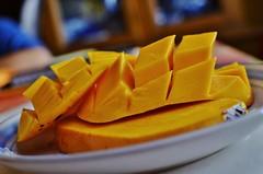 a taste of summer 2014: sliced mango
