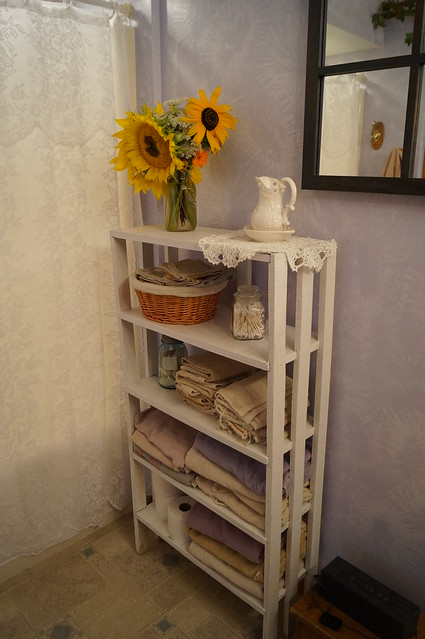 The 'new' towel shelf