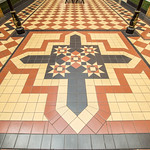 Miller Arcade floor tiles
