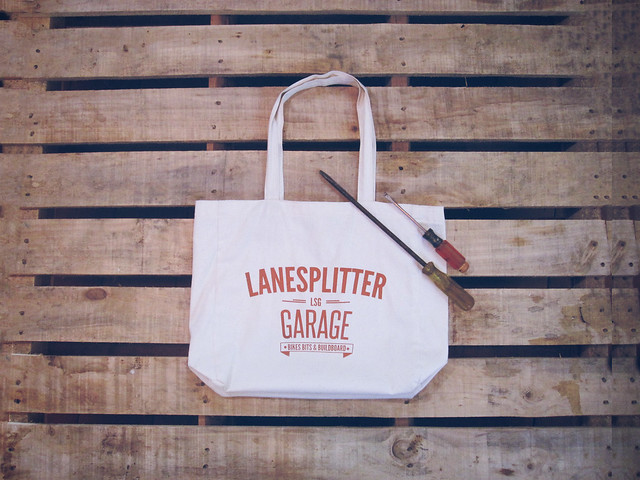 Lanesplitter Garage Tote Bag