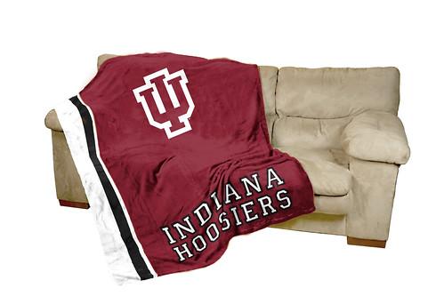Indiana Hoosiers Ultrasoft Blanket