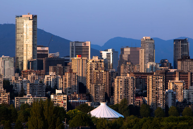 Sky Scraping ~ Vancouver, BC