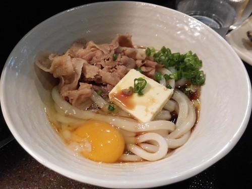 Tamoya's Creamy Pork Udon