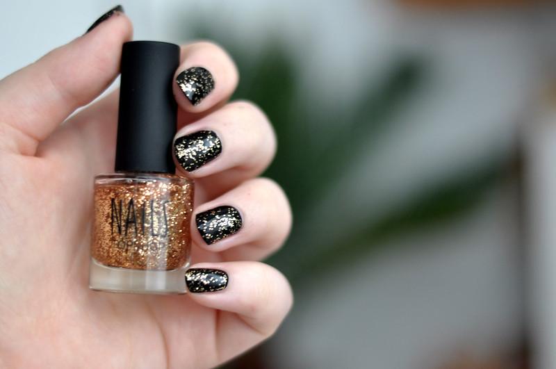 notd topshop stardust nail polish rottenotter rotten otter blog