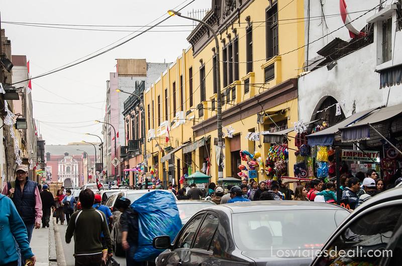 mercado central de Lima