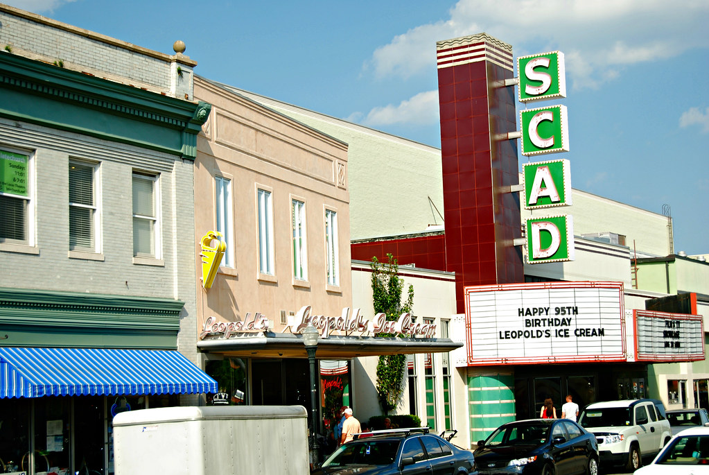 Leopold's Ice Cream and SCAD