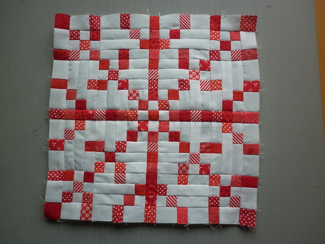 Snowflake block for Nicky - Bee A Brit Stingy 2014