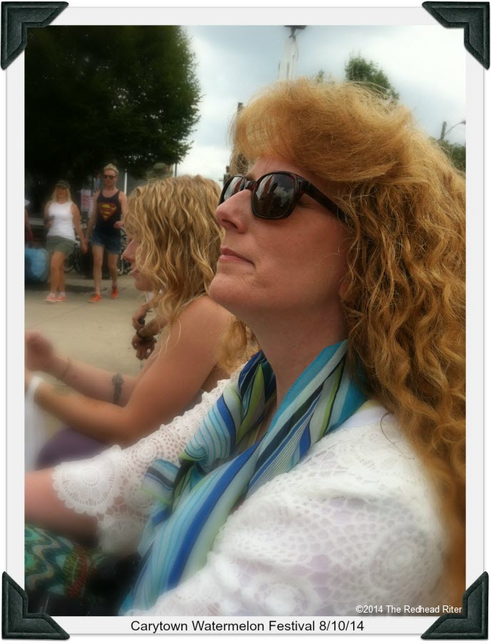 31st Annual Carytown Watermelon Festival,  Richmond, Virginia - Sherry Riter, Redhead Riter