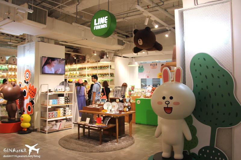 【首爾明洞樂天百貨】Lotte Young Plaza大敗家|LINE Friends官方商品| SM TOWN明星 「Pop-up Store」、YG藝人「KHOS」、韓國化妝品too cool for school、LV專賣店 @GINA環球旅行生活|不會韓文也可以去韓國 🇹🇼