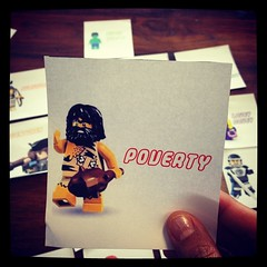 This is @intrepidteacher's favorite one. #minifig #classroomlibrary