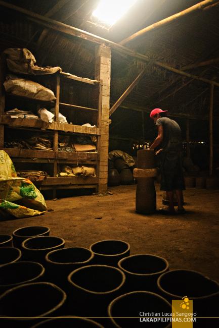 Inside a Pagburnayan in Vigan City