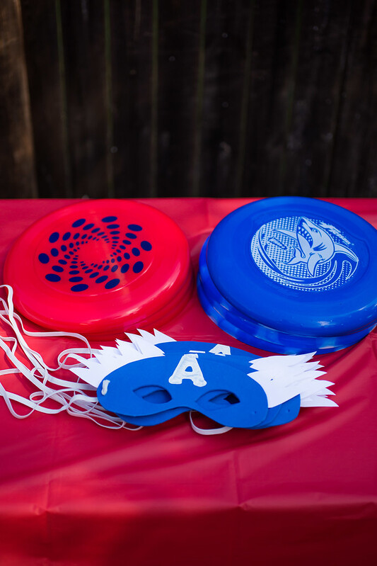 Captain America Party Masks and Shields #HeroesEatMMs #Shop