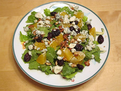 Orange cranberry salad