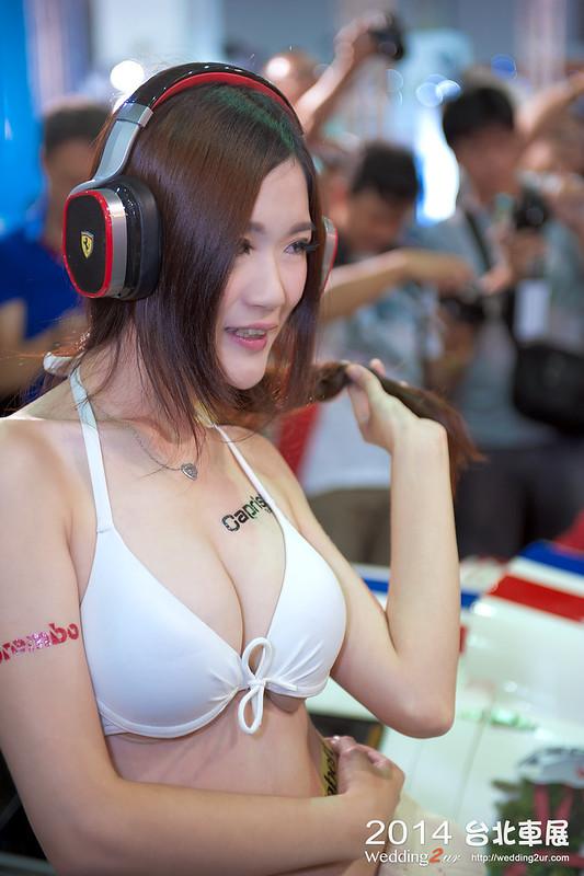 2014台北車展 show girl,48