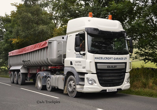 Daf cf hazelcroft garage ltd buxton derbyshire for Garage daf massy
