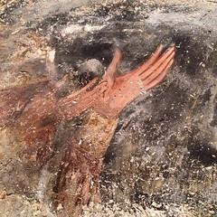 hands, 14th century #svaneti #lagami #mestia