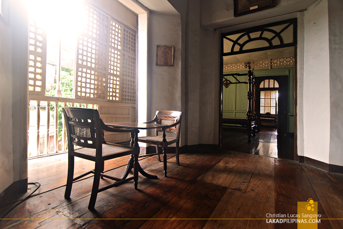Inside Syquia Mansion in Vigan City