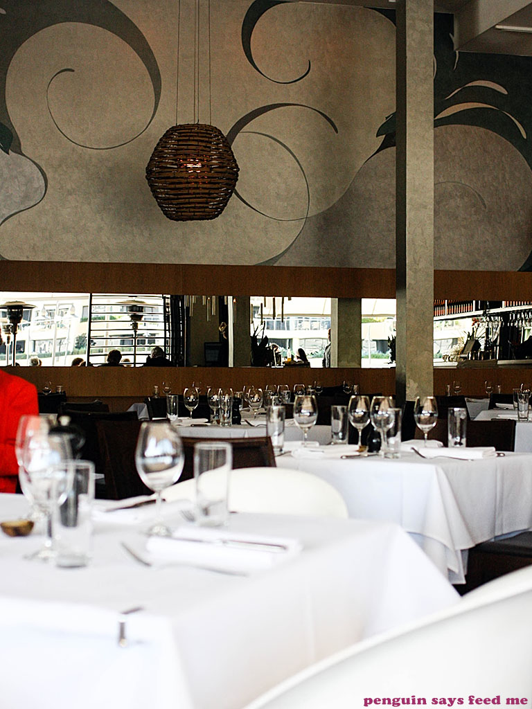 Manta Restaurant, Woolloomooloo | Penguin says Feed Me