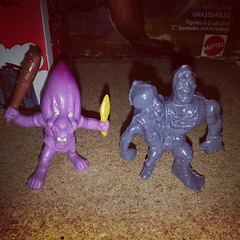 Mini Toxic Crusaders Headbanger and an Arco Other Worlder