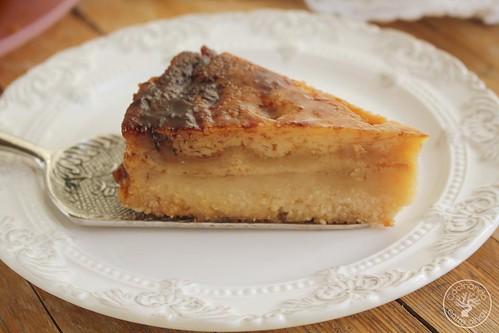 Tarta de almendras y tocinillo www.cocinandoentreolivos.com (1)