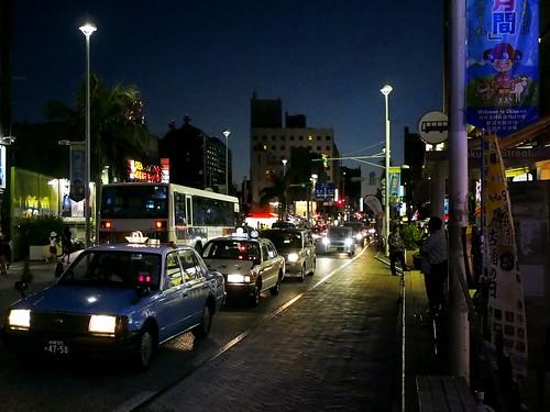 japan night okinawa nightview naha 沖繩 kokusaidori 国際通り imnothere0