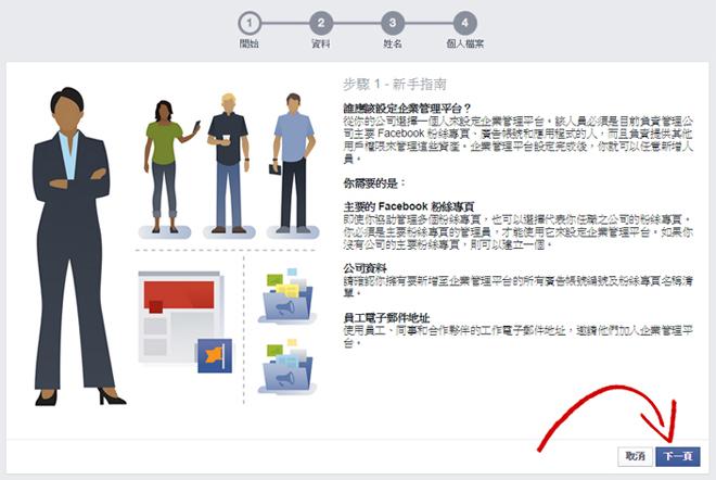 Facebook 企業管理平台