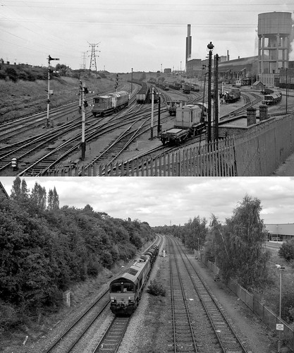 Corby Steelworks - then and now