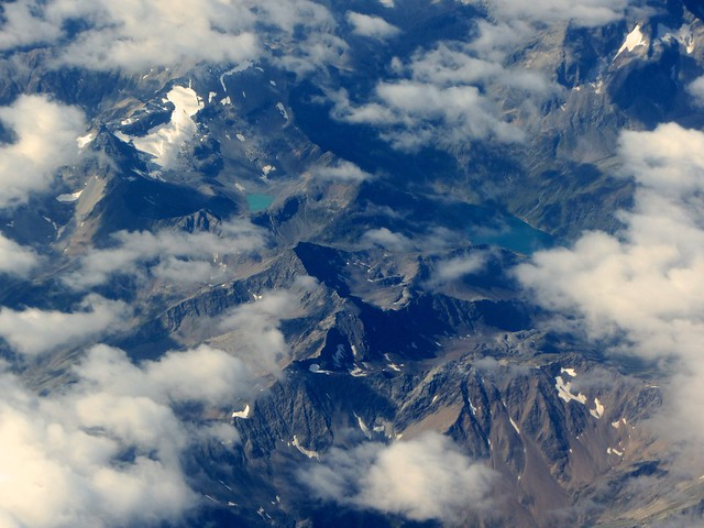 Alpine Peaks and Glacial Lake