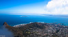 Looking out across Cape Town from the top of Table Mountain