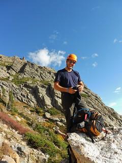 David Ready to Climb