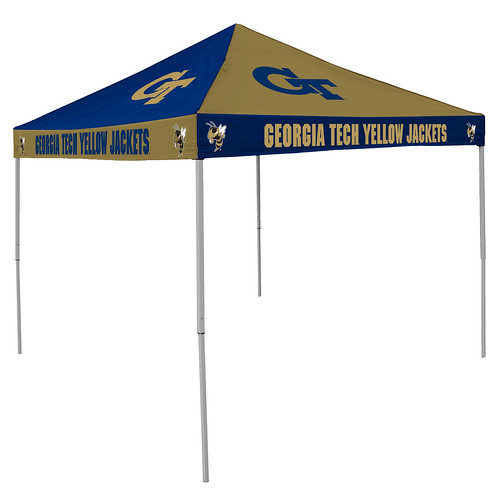 Georgia Tech Yellow Jackets Checkerboard Tailgating Tent