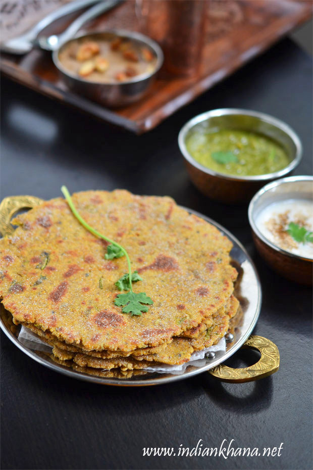 Falahari-Rajgira-Paratha-Thepla
