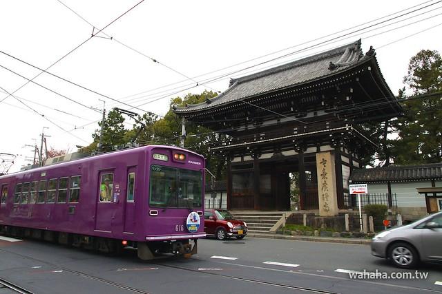 嵐電&廣隆寺